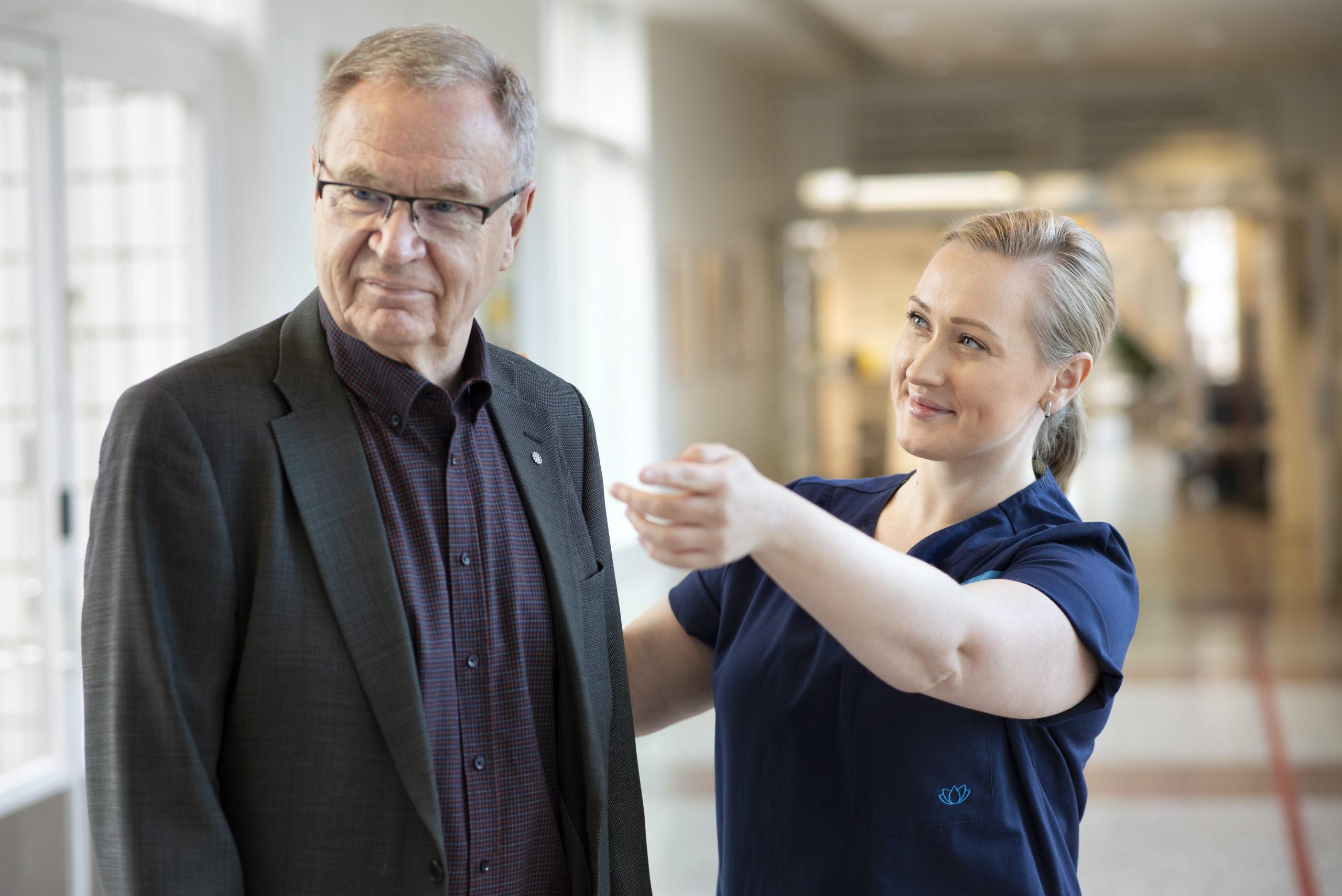 Ikääntyneiden lonkkamurtumapotilaiden hoito ja kuntoutus